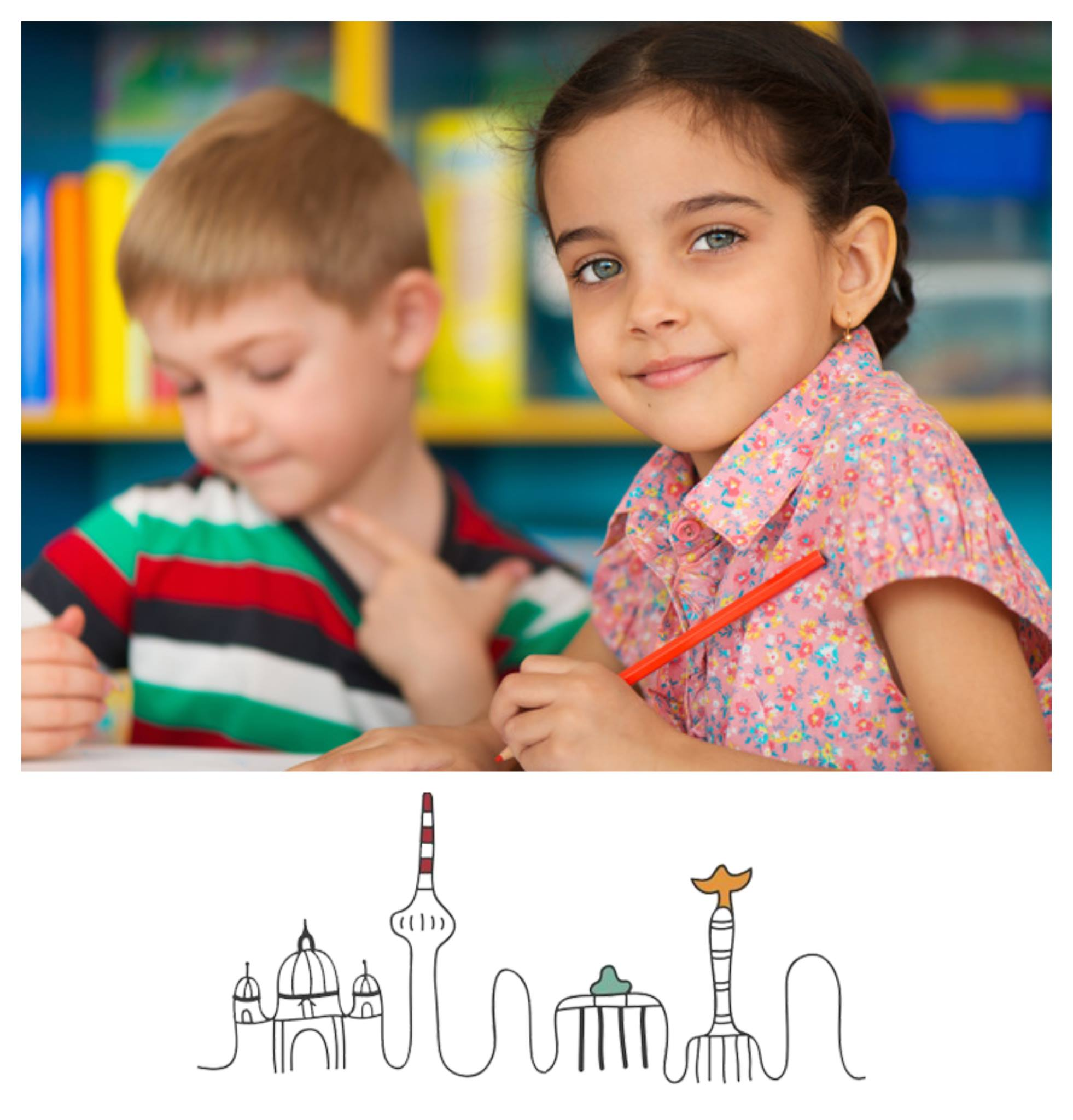 εξασφαλίζετε για το παιδί σας την καλύτερη δυνατή πρώτη επαφή με τη Γερμανική Γλώσσα